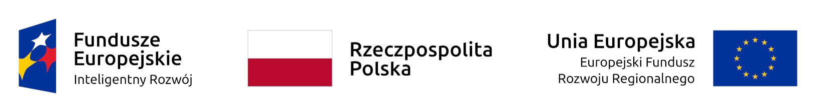 Logotypy UE, FE i Polskii